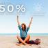 50% DE DESCUENTO EN TUS PRÓXIMAS VACACIONES